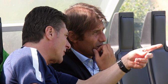 Italia: Conte in visita all'Inter e al Milan
