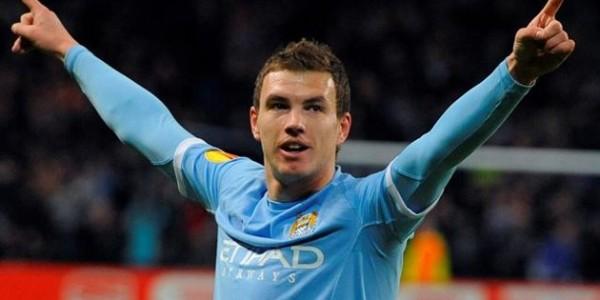 Calciomercato, Manchester City: ufficiale Dzeko firma il rinnovo