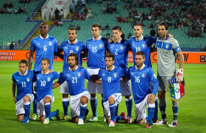 Ranking FIFA: l'Italia sale al 13° posto