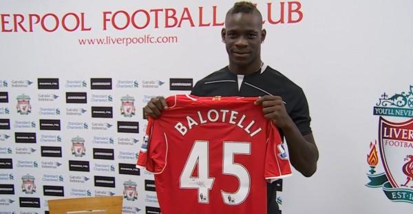 Calciomercato: ufficiale Balotelli al Liverpool