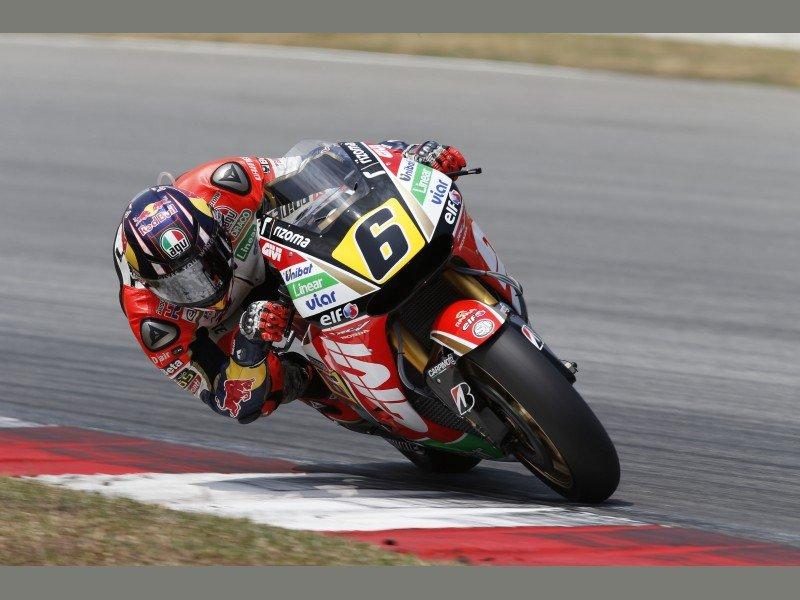 Indianapolis, Bradl più veloce anche di Valentino Rossi