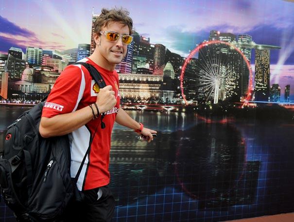 F1: Gp Singapore, Alonso il più veloce nelle Libere 1