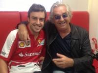 Briatore Alonso Ferrari Lotus
