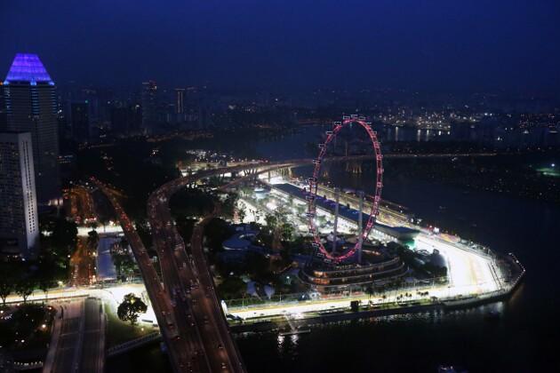 F1: Gran Premio di Singapore, il circuito di Marina Bay