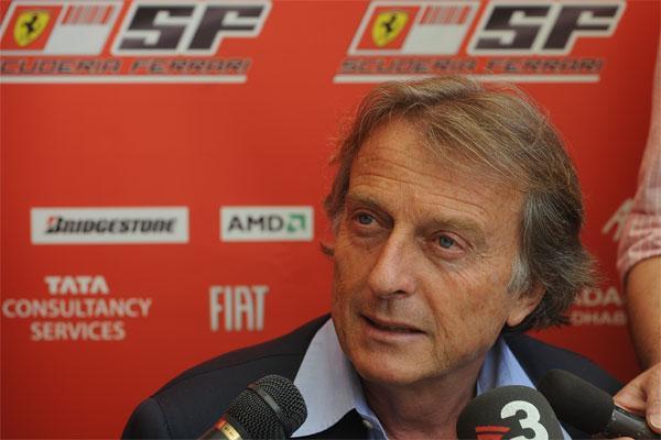 Gp Monza: Montezemolo ancora in Ferrari