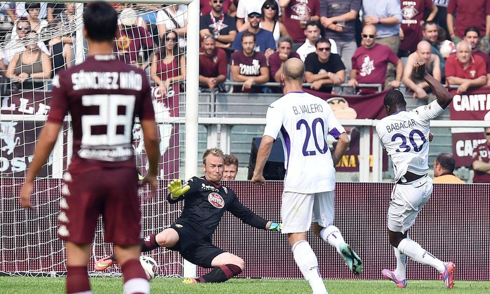 Fiorentina: buon punto contro il Torino, segna Babacar
