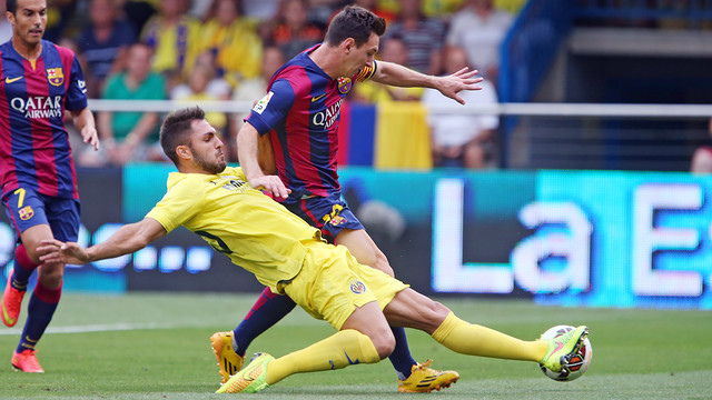 Liga: il Barcellona espugna il Madrigal