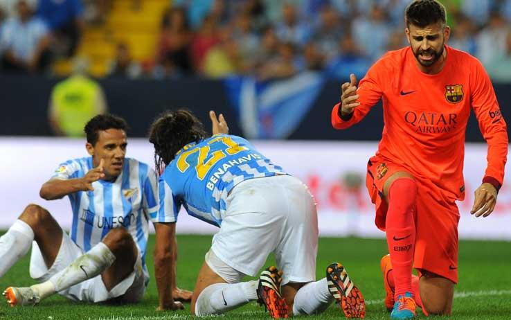 Liga: Atletico e Real Madrid approfittano del passo falso del Barcellona