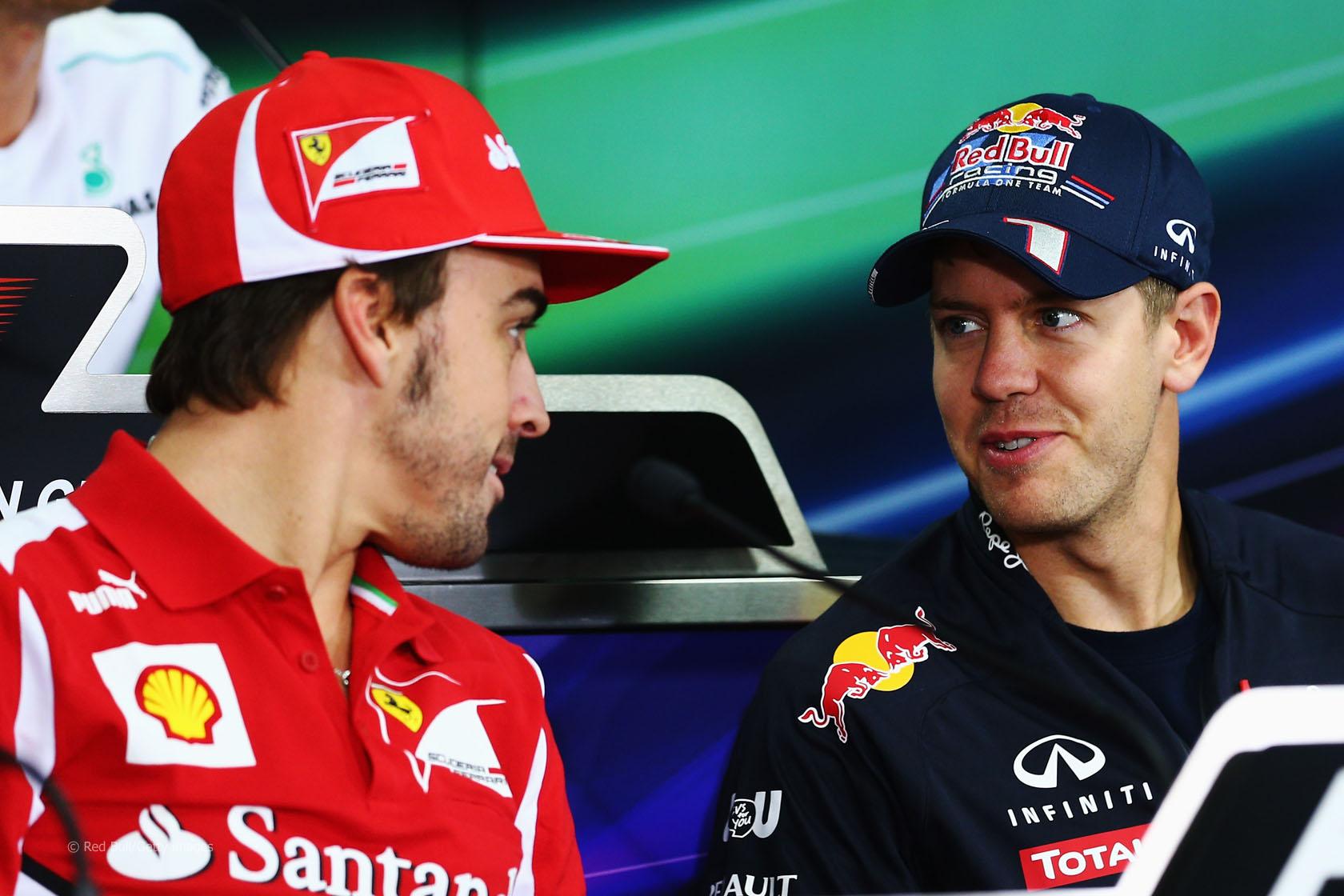 F1: Scambio di squadra tra Vettel e Alonso