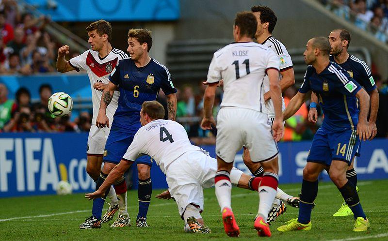 Amichevoli: Di Maria vendica l'Argentina contro la Germania. Ko le euro-rivali dell'Italia