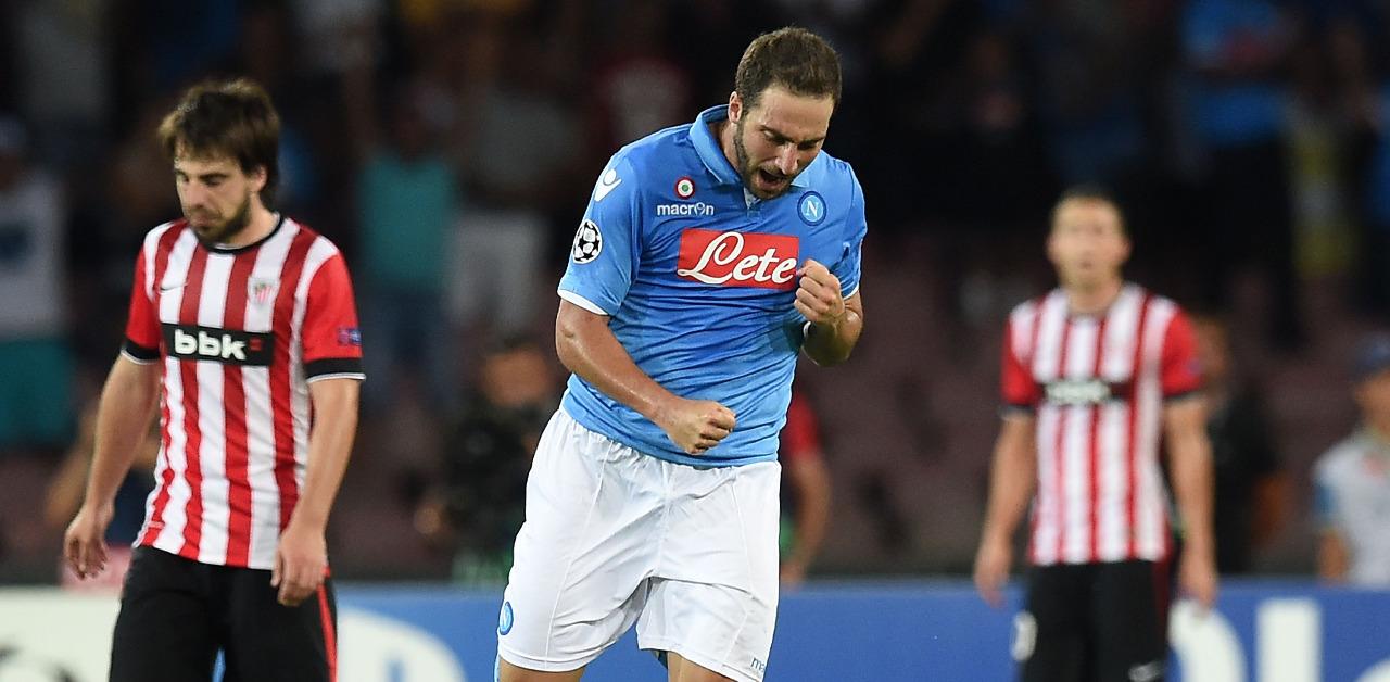 Serie A, Napoli: brutta notizia, Higuain infortunato