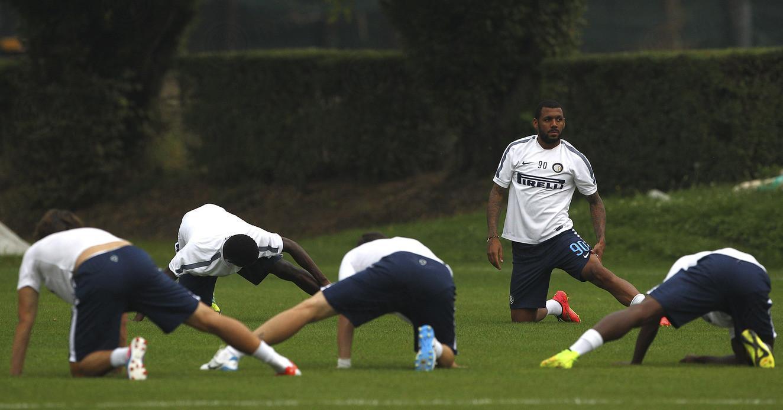 Inter: allenamento pomeridiano, domani torna Ranocchia