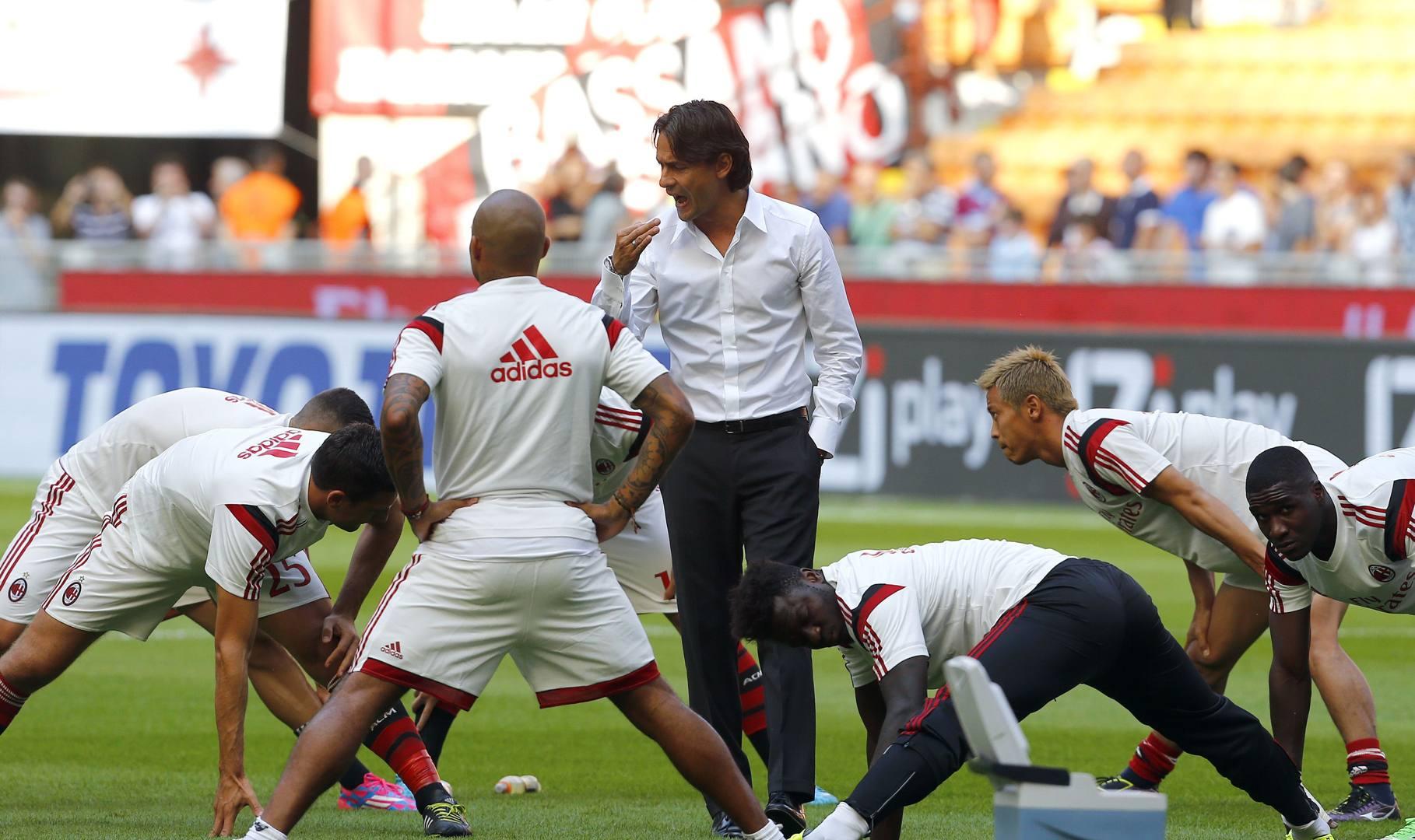 Milan: ultimi dubbi di Inzaghi, dentro Bonera dal 1 minuto