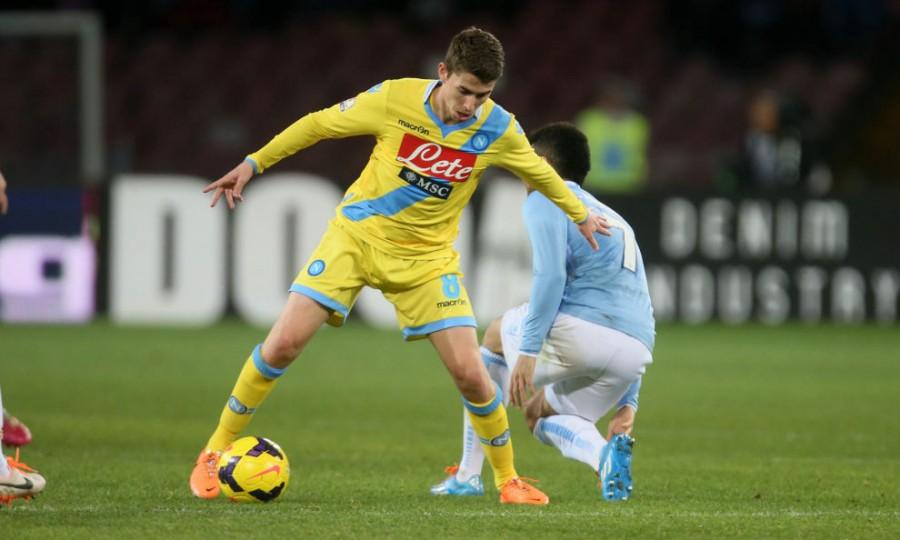 Napoli: Jorginho ancora fuori, non ci sarà contro il Palermo