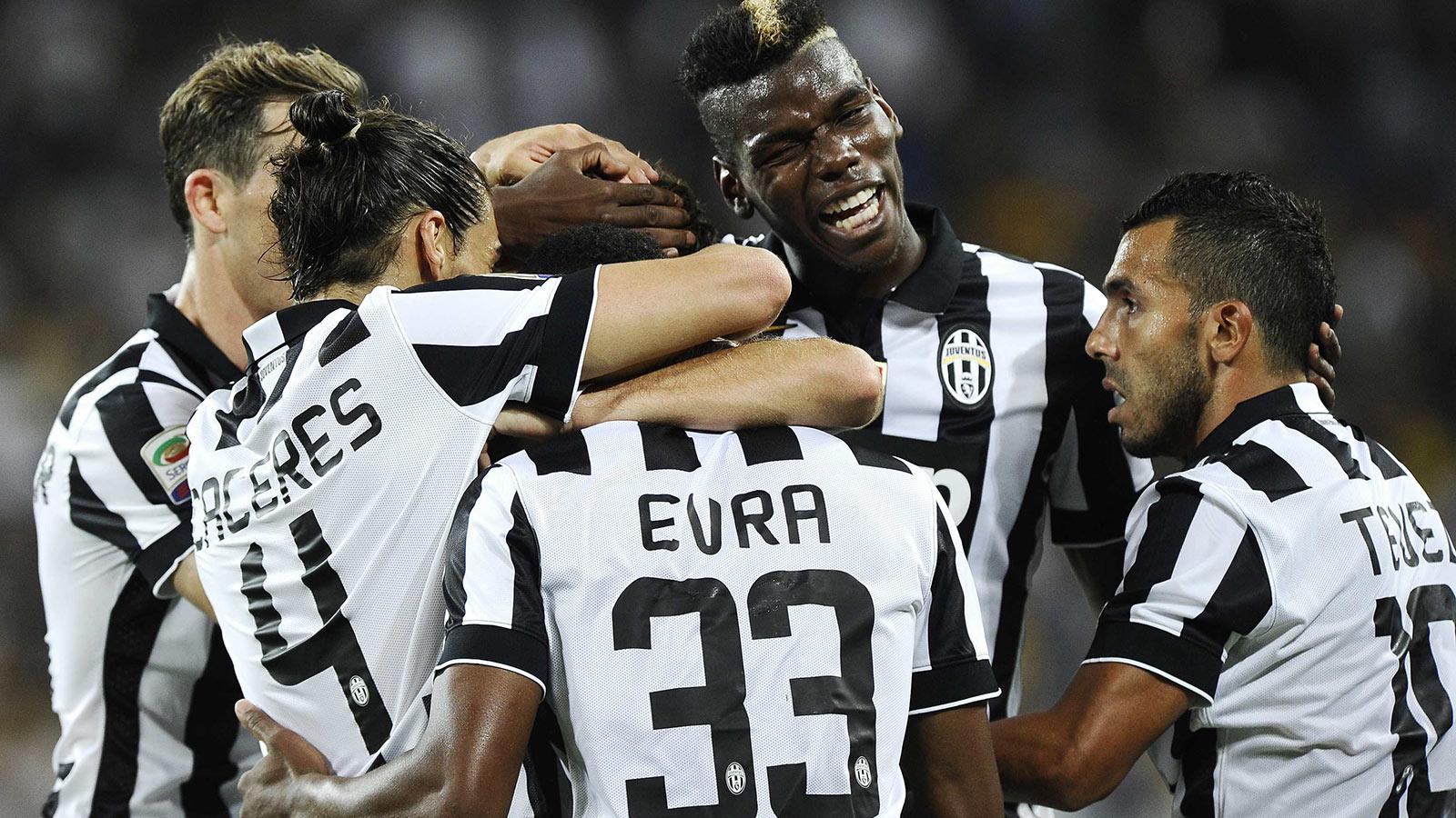 Juventus: bella vittoria contro l'Udinese, Tevez fa gol