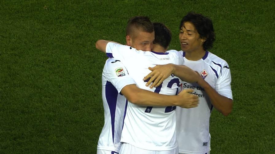 Fiorentina: buona prova a Bergamo e primi tre punti