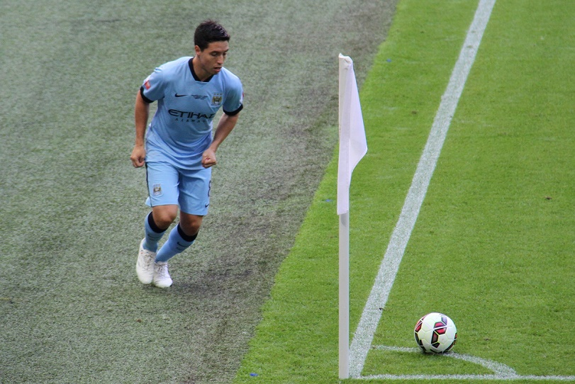 Champions League: l'infortunio di Nasri inguaia il Manchester City