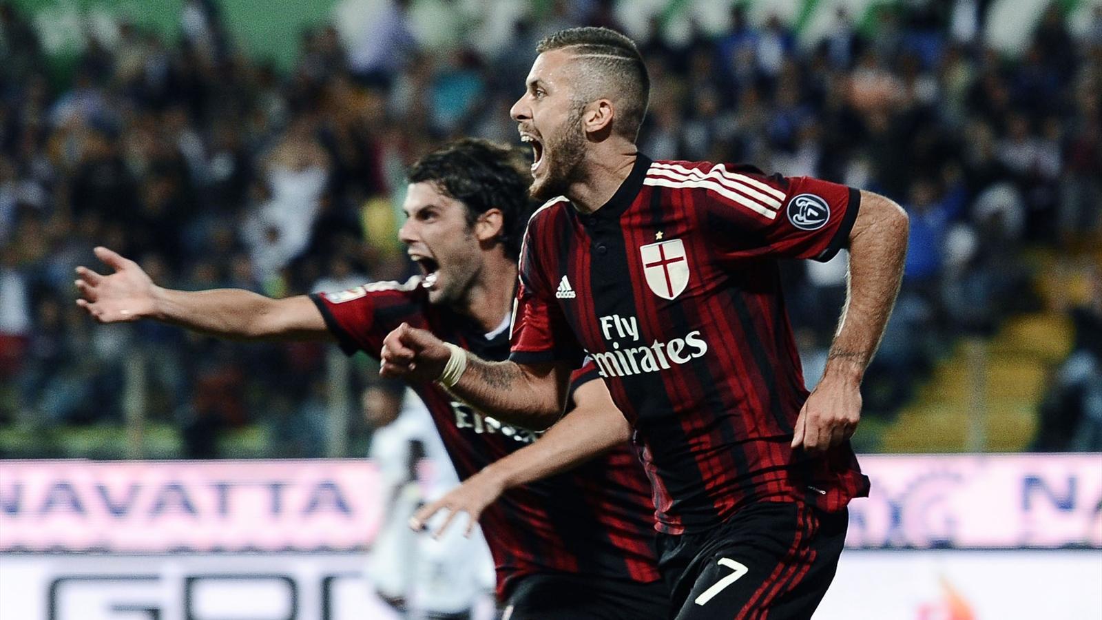 Milan: cinque gol al Parma per tornare a sognare