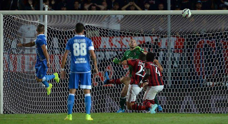Milan: pareggio in rimonta ad Empoli, primo gol di Torres