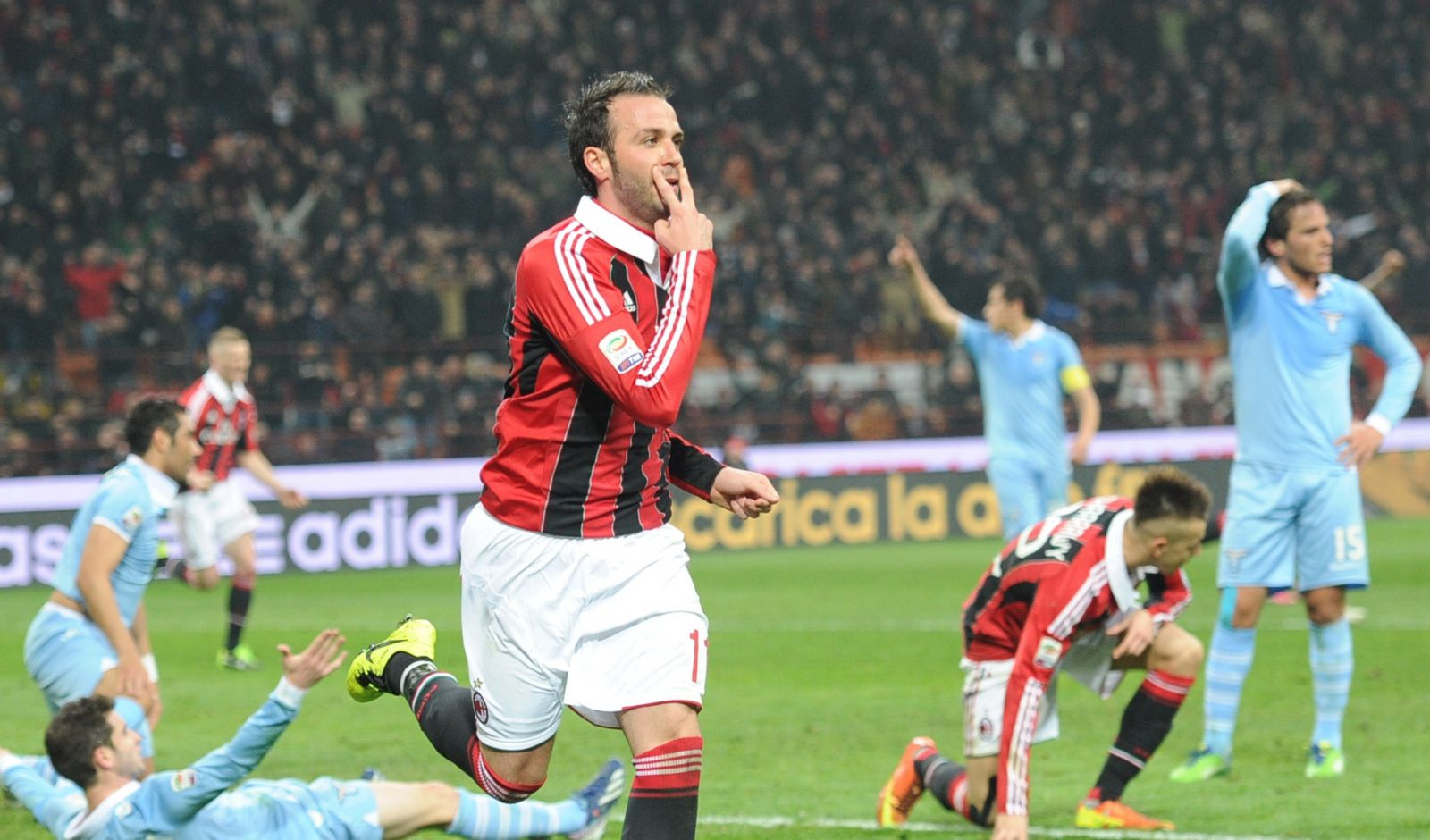 Serie A, Milan: Pazzini torna ad allenarsi