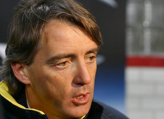Roberto Mancini consiglia la Roma per la sfida con il Manchester City