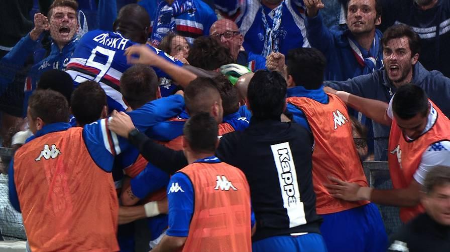 Sampdoria: Gabbiadini decide il derby, blucerchiati terzi in classifica