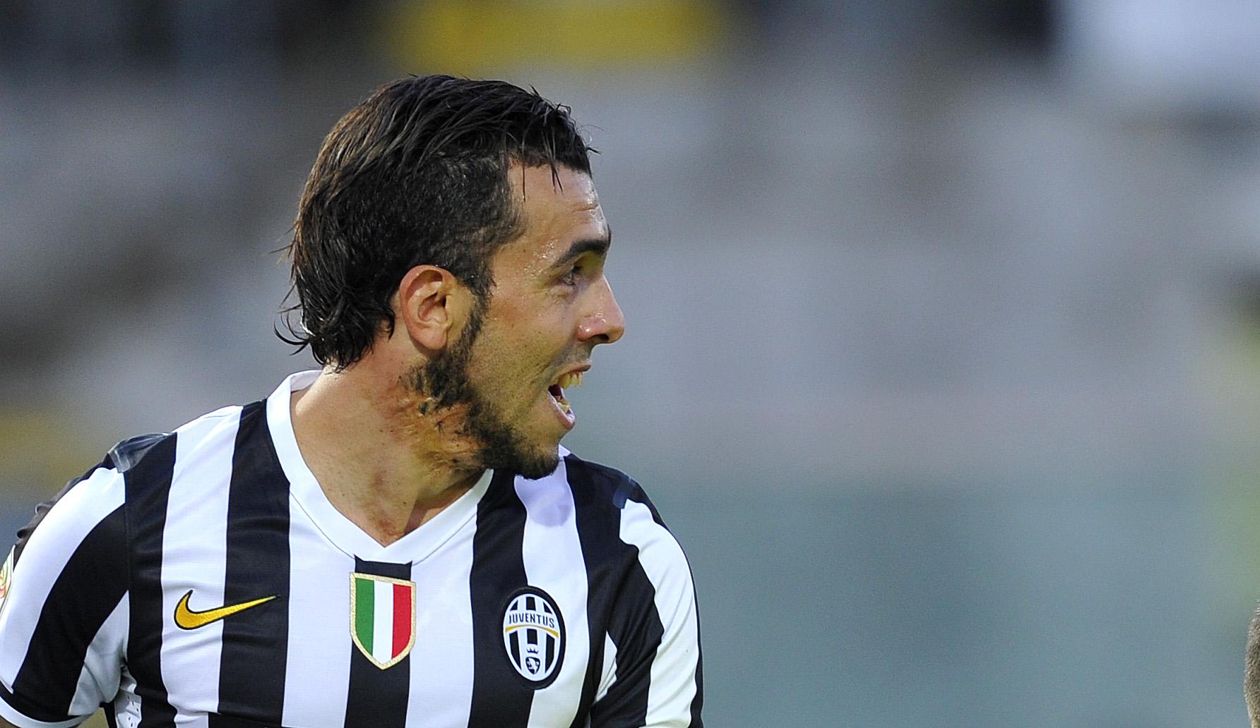 Juventus: Tevez rischia di saltare l'Udinese
