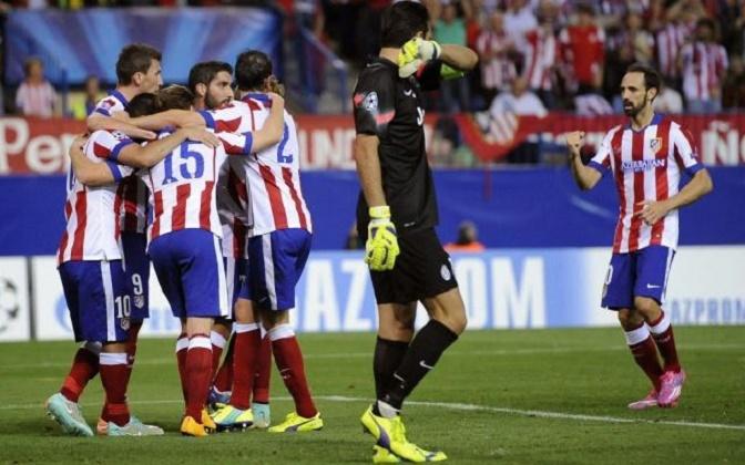 Champions League: l'Atletico Madrid disinnesca la Juventus