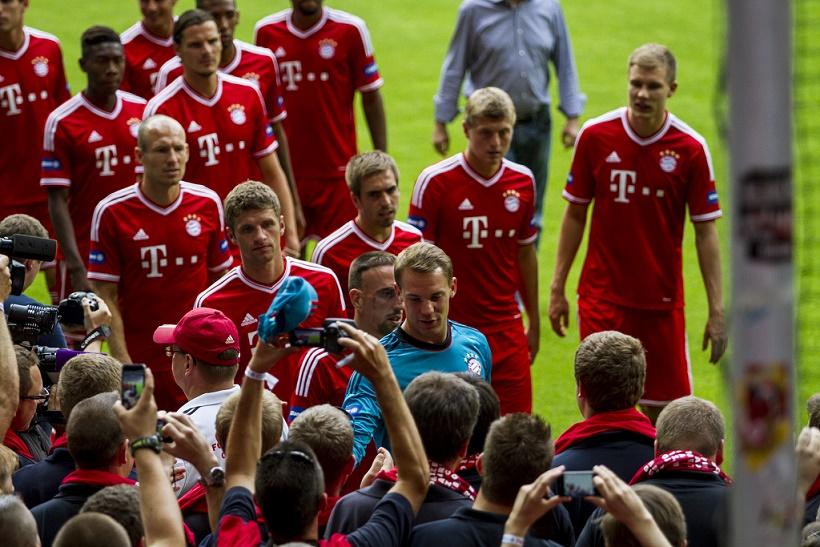 Champions League: attenta Roma, il Bayern Monaco vola