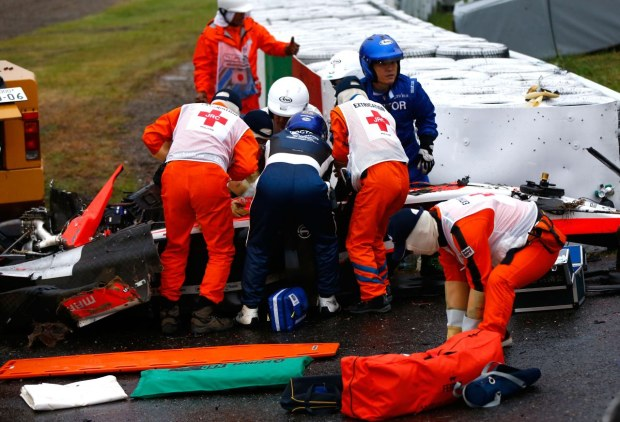 F1, incidente Bianchi: in Giappone vola Saillant, luminare di fama mondiale