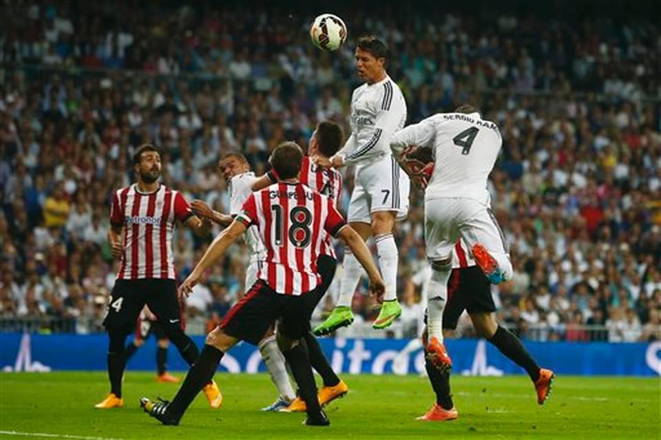 Real Madrid: manita all'Athletic Bilbao e primo posto più vicino