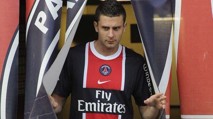 Paris Saint Germain: Thiago Motta resterà fermo per un mese