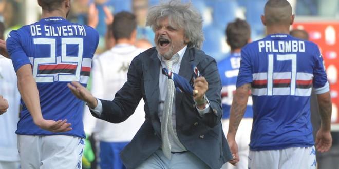 """Ferrero scatenato : """"La Sampdoria vincerà lo scudetto"""""""