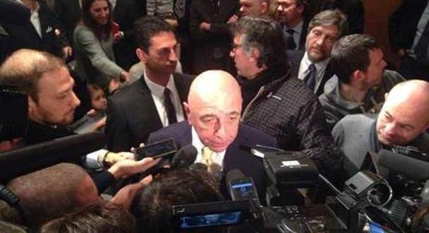 Galliani: Totti al Milan era una possibilità