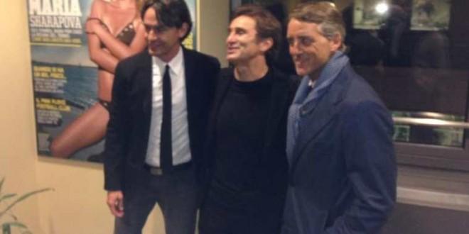 Inzaghi-Mancini, primo derby fra foto e battute