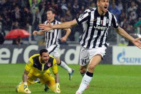 La Juve soffre ma batte l'Olympiacos