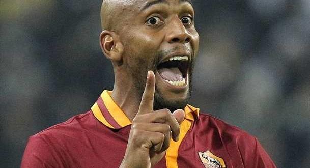 Roma in Champions con il giallo Maicon