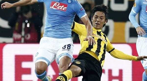 Europa League: Napoli, vittoria e primo posto