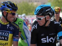 Alberto Contador - Chris Froome