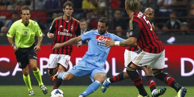 Match clou della Serie A : Milan-Napoli