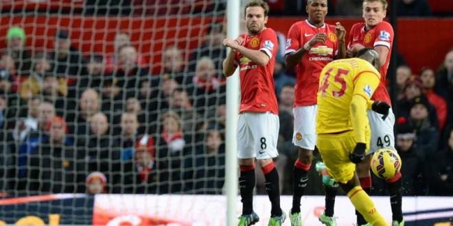 Lo United strapazza il Liverpool nel Derby d'Inghilterra