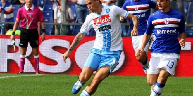 Sampdoria-Napoli: news e formazioni