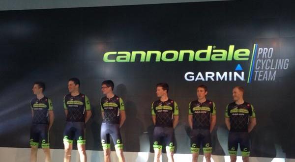Cannondale-Garmin, presentato il team. Porte campione nazionale a crono