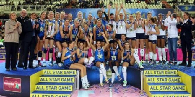 Pallavolo femminile: che spettacolo l'All Star Game '15