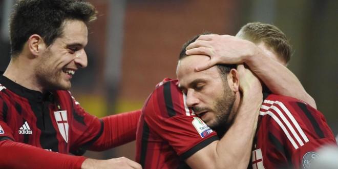 Coppa Italia : il Milan batte il Sassuolo 2-1