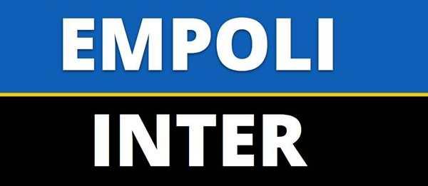 Empoli-Inter anticipo Serie A: probabili formazioni