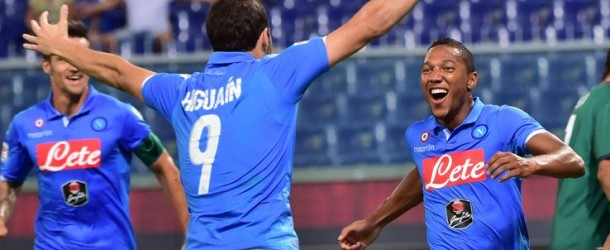 Il Napoli vince e conquista il terzo posto