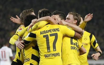 Attenta Juve, il Dortmund s'è risvegliato: 2-3 a Stoccarda