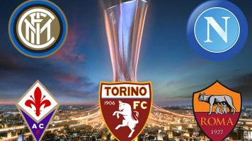 EL: il sorteggio regala un derby italiano. Bene il Napoli, meno Toro e Inter