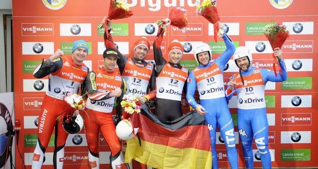 Slittino, bronzo mondiale per Oberstolz-Gruber